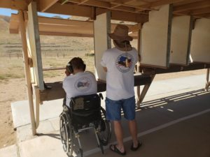 wheelchair pistol range